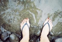 Splish splashin and gettin tuberculoses in the Susquie.