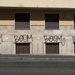 Boom Boom Boom all the way down Viale delle Medaglie d'Oro.