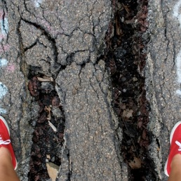 I felt the earth move under my feet. I didn't really.