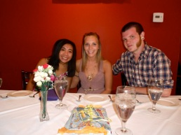 Team Kyle finally united at Thai Thai in celebration of Kyle's early birthday.