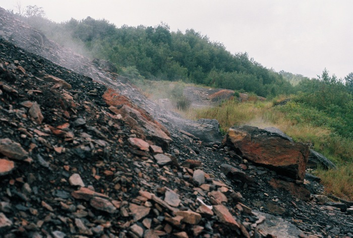 My film camera seems to have better captured the essence of the steam.