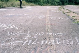 Why, thank you! What kind words coming from those disrespecting Mother Earth with spray paint.