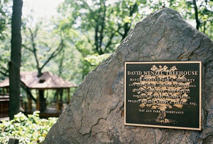 David Wenzel Tree House, Nay Aug Park, Scranton, PA.