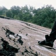 Ground-breaking broken ground.