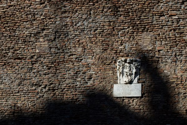 Thank you, Pope Sixtus V, for all your renovations to Rome!