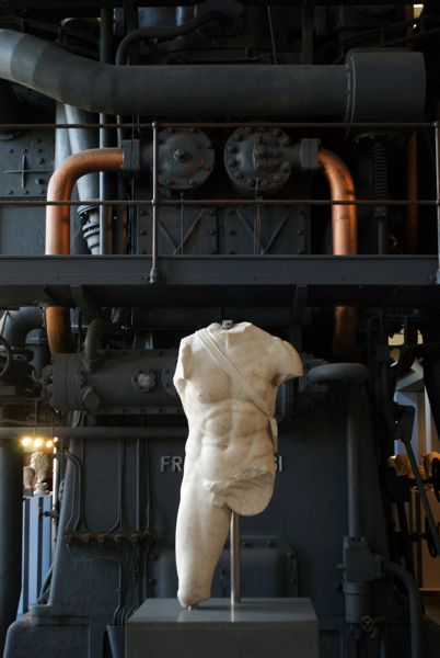 Musei Montemartini - an old electrical plant turned ancient Roman art museum.