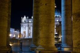 Peering through centuries of masterful architecture.