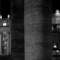 San Pietro di notte.