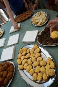 Antipasti - finger foods & arancina.