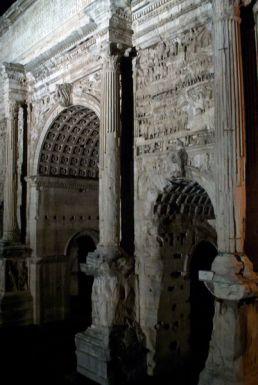Arch of Septimius Serverus, Ancient Roman Forum.