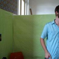 Kyle's studio.