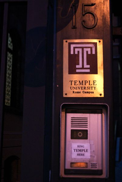 Temple University, Rome.