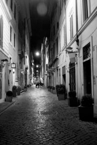 One of the many tiny streets of Italy.