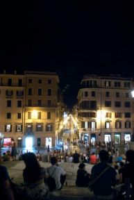 From the Spanish Steps.