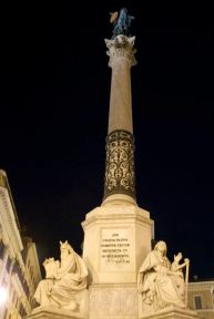 Colonna dell' Immacolata, a monument to the dogma of the Immaculate Conception.