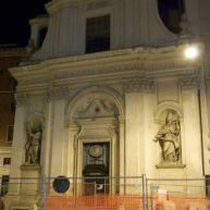 Chiesa dei Santi Claudio e Andrea dei Borgognoni in Piazza di S. Claudio.