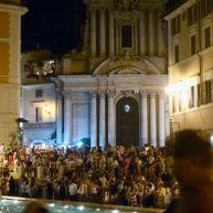 St Anastasius near the Trevi Fountain. Iulius S(anctae) R(omanae) E(cclesiae) D(iaconus) Car(dinalis) Mazarinus.