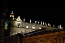 Carlo Maderno's facade statues.