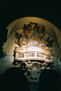 Gian Lorenzo Bernini. Organ choir.