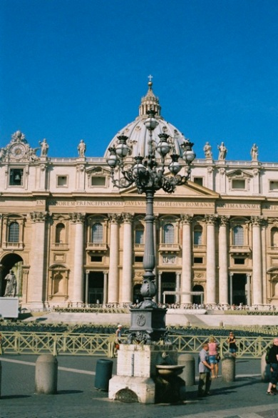 Baroque for days, St. Peter's Basilica and Square, Vatican.