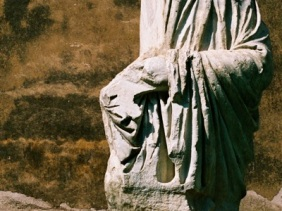 Underrated statue at Castel San Angelo compared to St. Michael.