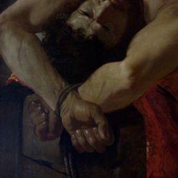 Caravaggio's Lamentation, 1606.
