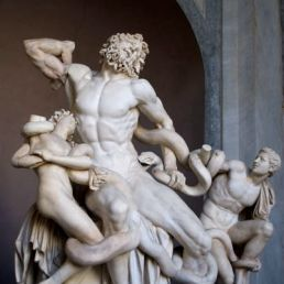 Laocoön by Hagesandros, Athenedoros, and Polydoros, 1st c. BC (?).