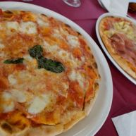 Lunch at Il Portico in Sperlonga, Italy.