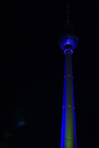 Fernsehturm TV Tower, Berlin.