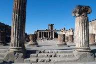 Basilica of the Forum of Pompeii.