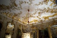Rococo in Frederick the Great's Sans Souci palace, Potsdam, Germany.