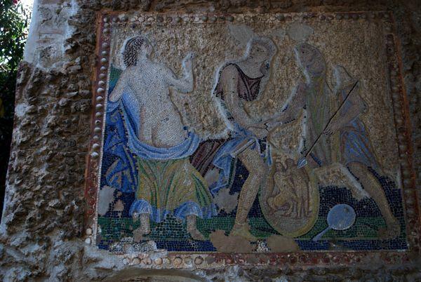 Mosaic from the House of Apollo, Pompeii.