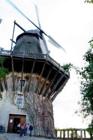 Grain windmill at Sanssouci Park, Potsdam.