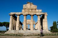 Temple to Athena, Paestum, Italy.