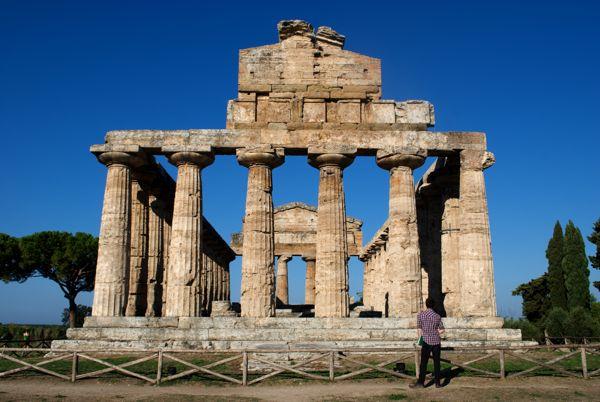 Temple to Athena, Paestum, Italy.