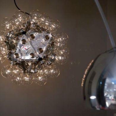 My favorite lamp - the Castiglioni brothers' Taraxacum with 60 light bulbs!
