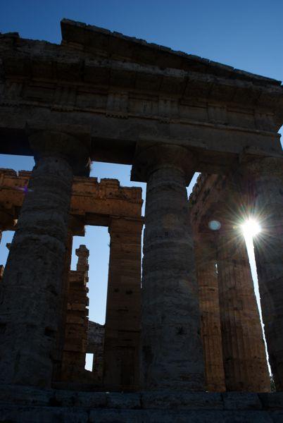 Temple of Hera II, Paestum, Italy.