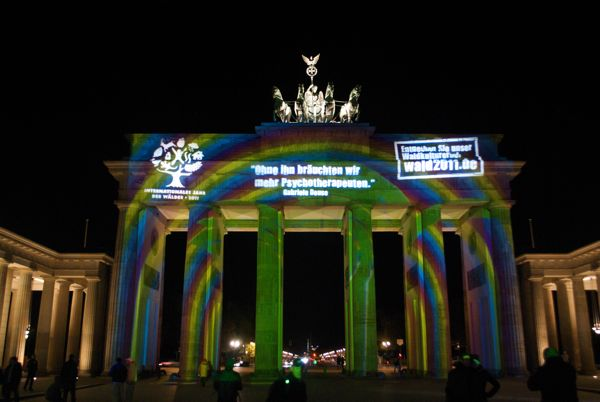 Brandenburger Gate, Berlin.