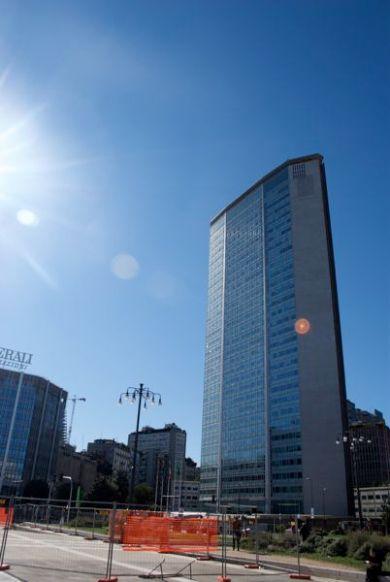 The Pirelli Building, first skyscraper in Europe.
