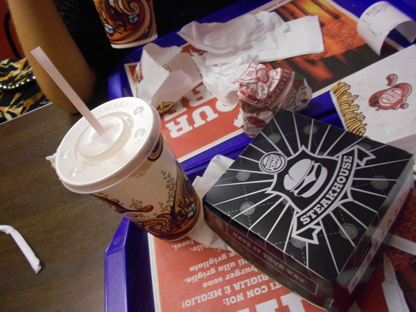 Done. We just pwned Italian Burger King - and look! No horrible feelings or tastes afterwards!