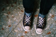 Rosie's laces.