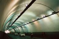 Noisy tunnel Via Milano.