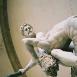 Giambologna's Hercules & the Centaur, Loggia dei Lanzi