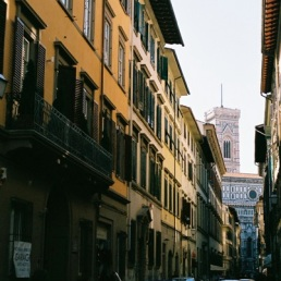 Florence, how pretty in the sun!