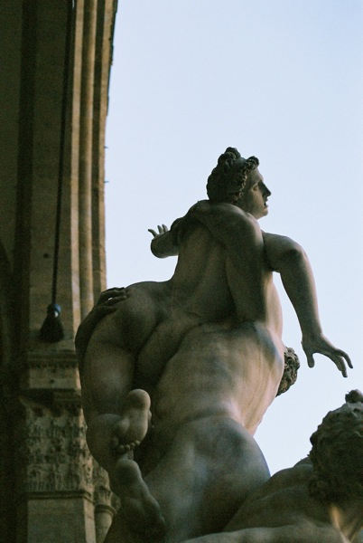Rape of the Sabine Women.