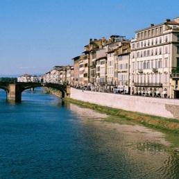 Arno e Firenze.