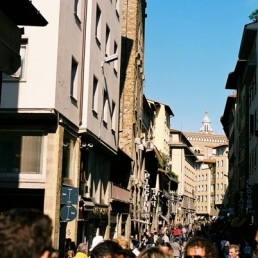 Busy streets of Florence!