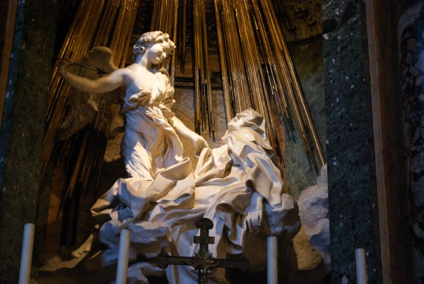 Ecstasy of St. Teresa, Bernini 1645-1652.