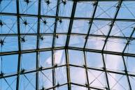 Pyramid sky.