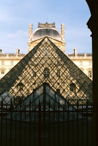 Louvre, Pyramid, Louvre.